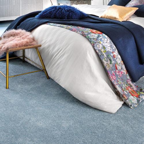 Фото Ковровое покрытие для спальни. Низкий ворс