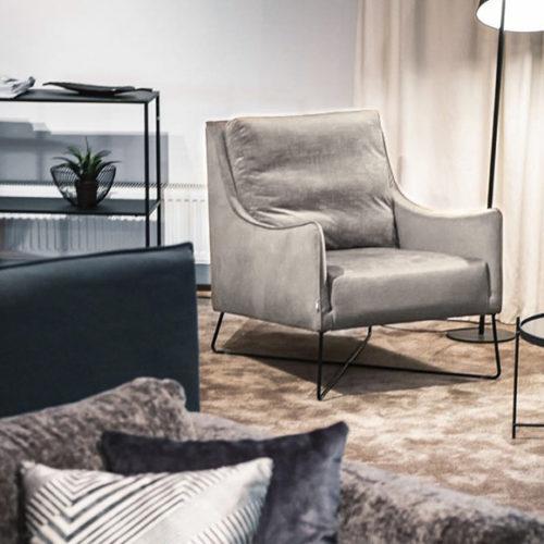 фото Кресло в современном стиле. Удобная спинка. Коллекция Chill, Швеция