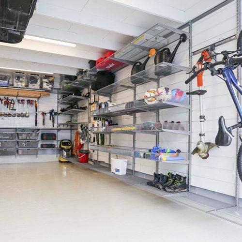 фото Система хранения для гаража или подсобного помещения. Металлические констукции. Гарантия 10 лет. Elfa, Швеция