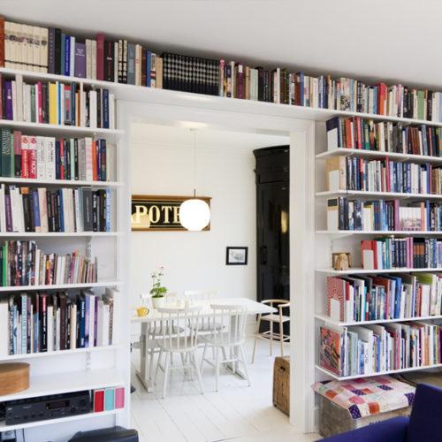 фото Система хранения для библитеки. Металлическая конструкция. Гарантия 10 лет. Elfa, Швеция