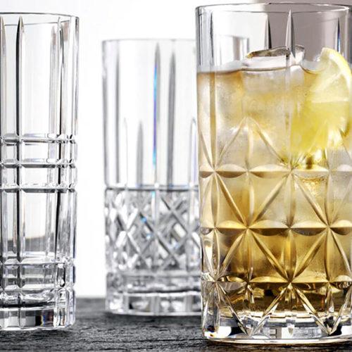 Склянки високі для коктейлів. Кришталеве скло. Nachtmann, Німеччина
