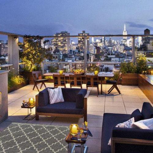 фото Килим для відкритої веранди, тераси, балкона, басейну. Поліамід. Колекція Sea, Італія