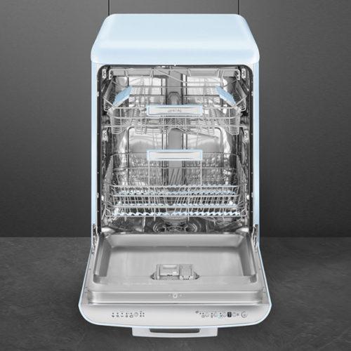 фото Посудомоечная машина. Загрузка 13 комплектов посуды. Ширина 60 см. Smeg LVFABPB, Италия