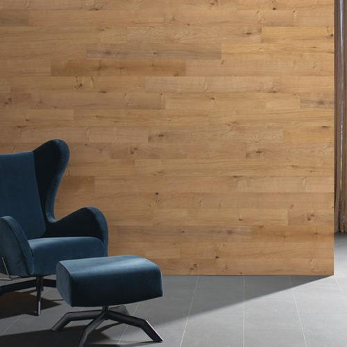 Панели на стену деревянные, дизайнерские. Натуральный дуб под маслом, структурированный. Коллекция Patagonia Дуб Ривер, Германия