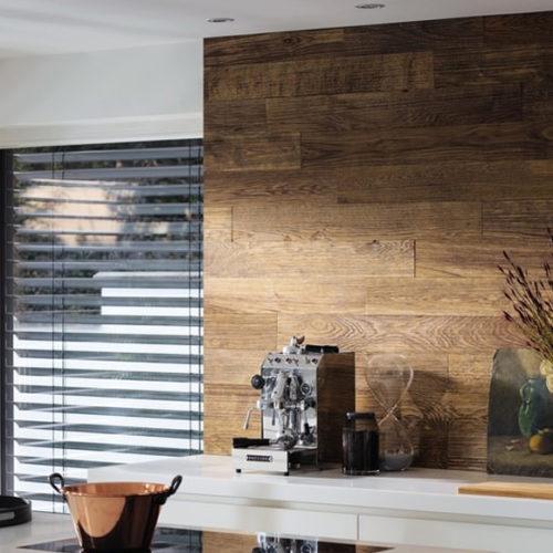 Панели на стену деревянные, дизайнерские. Масляная пропитка, структурированные, рельефные. Коллекция Patagonia Дуб Баррик, Германия