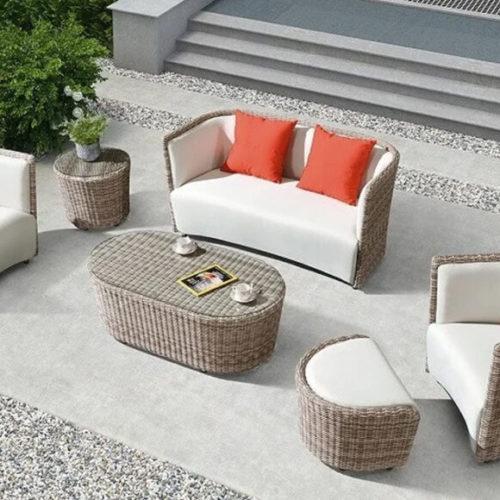 фото Комплект меблів для тераси, саду, басейну. Штучний ротанг, алюмінієвий каркас. Колекція OXFORD, США