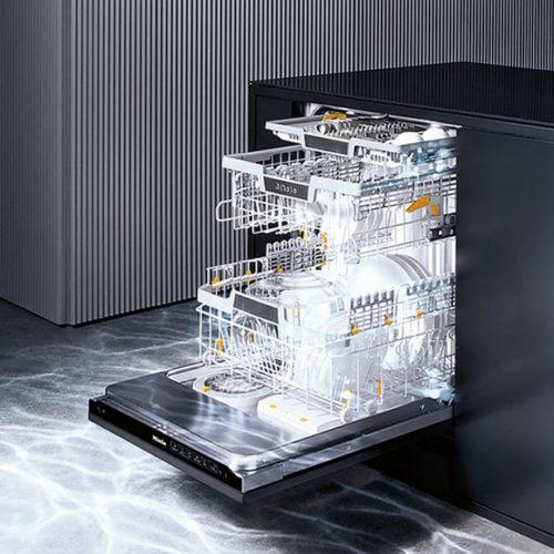 фото Посудомоечная машина G 7000. Возможность управления с мобильного приложения. Система AutoDos, сенсорный дисплей