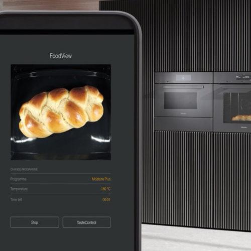 фото Духовой шкаф. Беспроводной термощуп, дистанционный контроль приготовления блюд. Функция самоочистки. Miele G 7000