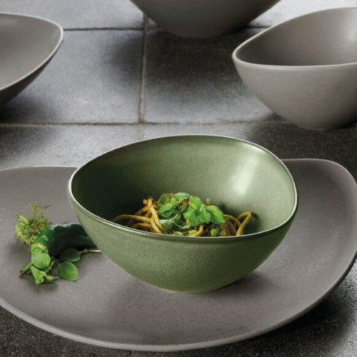 Блюда, тарелки, пиалы. Ручная работа, фарфор. Аsa selection, Коллекция Сuba, Германия
