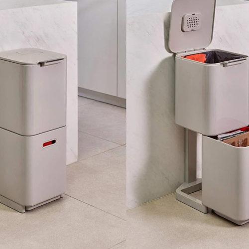 Органайзер для раздельного хранения мусора с угольным фильтром. Joseph, Англия