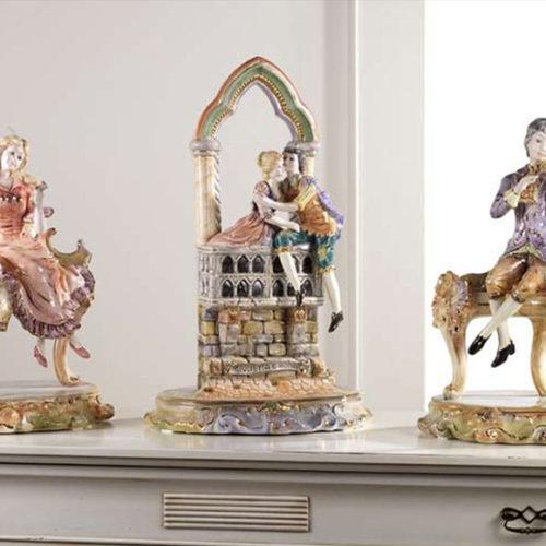 фото Статуетки. Фарфор, ручна робота. Колекція Florence, Італія