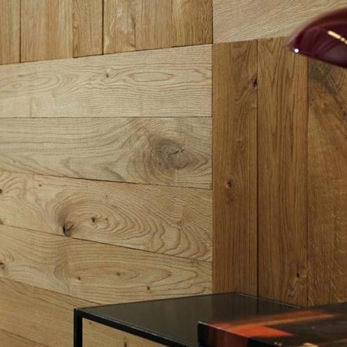 Панели деревянные, дизайнерские на стену. Рельефные, структурированные, покрытие маслом. Коллекция Patagonia Дуб Ривер, Германия