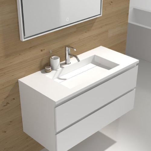 Фото Мебель для ванной комнаты. Искусственный камень. Коллекция Illumina, Австралия