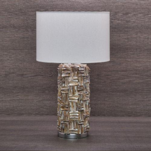 Лампа настольная. Высота 65см. Фарфор, ткань. Коллекция Royalty, Италия