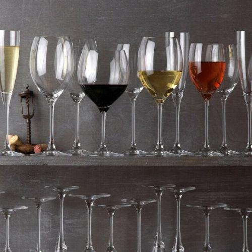 Колекція келихів для різних видів вин. Кришталь преміум класу. Колекція Maxima Villeroy&Boch, Німеччина