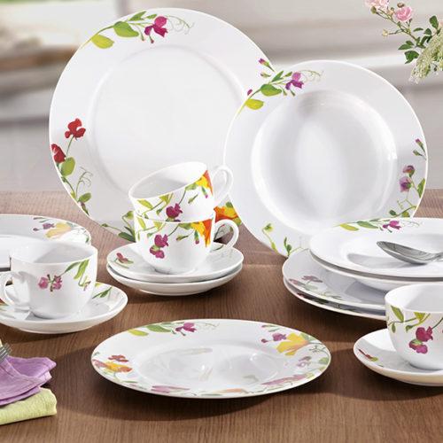 Сервиз чайно-столовый. Костяной фарфор. Коллекция Royal Villeroy & Boch, Германия Скидка -40% АКЦИЯ