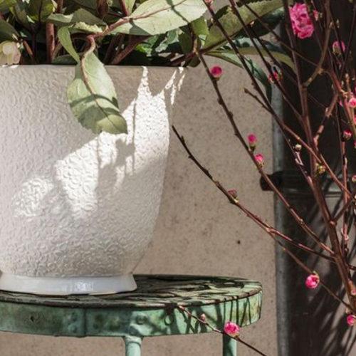 Кашпо декоративне. Бісквітний фарфор. Колекція Dalida, Італія
