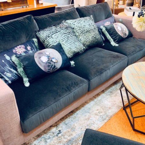 фото Диван с подушками. Съемные чехлы подушек спинки. Dialogo, Италия