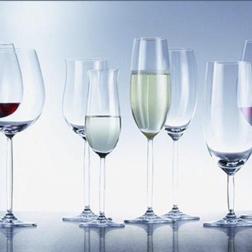 Набір келихів для вина і шампанського 18 шт. Колекція Diva Schott, Німеччина