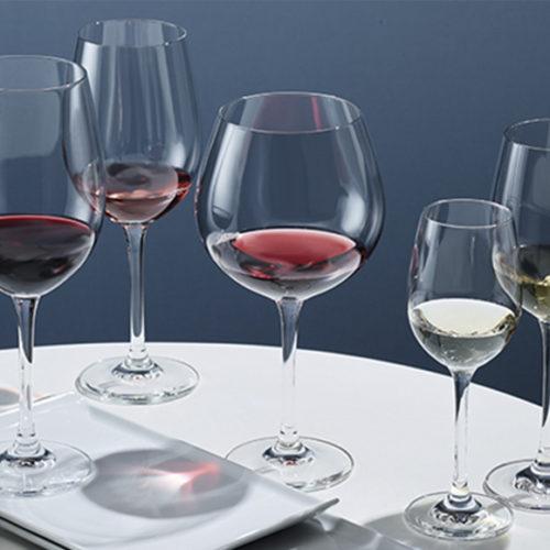 Набір келихів для вина і шампанського 12 шт. Колекція Сlassico Schott, Німеччина