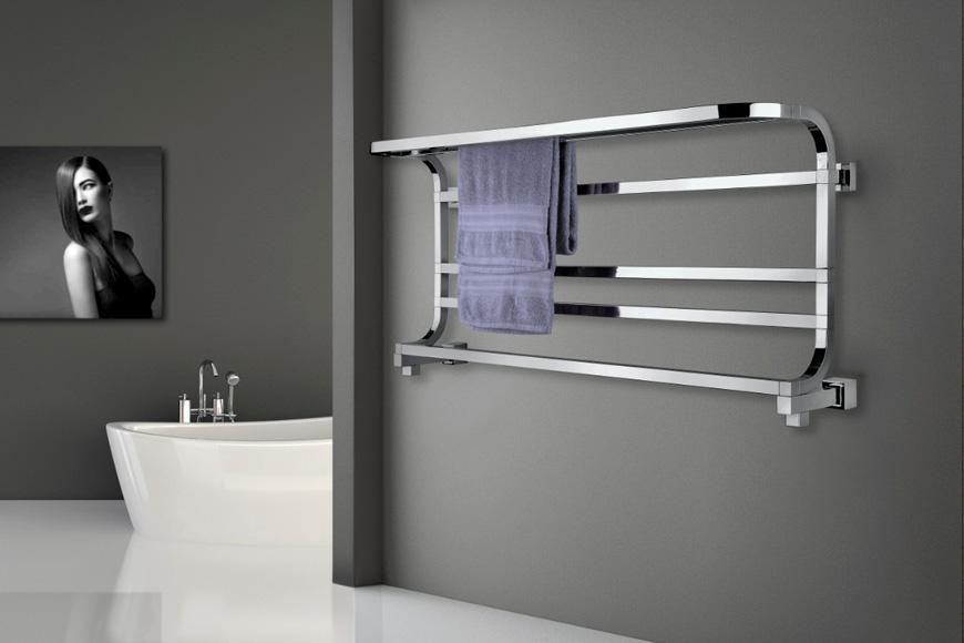 Фото Полотенцесушитель водяной в ванную комнату. Коллекция Рanorama