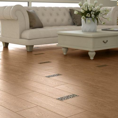 Плитка керамічна для підлоги в колоніальному стилі. Матова поверхність. Колекція Аbalon nogal, Іспанія