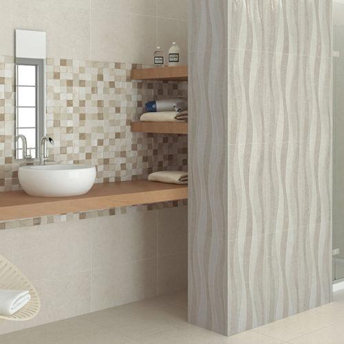Плитка керамічна для стін під камінь. Глянцева або матова поверхня. Колекція Badem, Іспанія