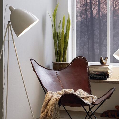 Фото Торшер для жилых и коммерческих помещений. Сталь. высота 135см. Коллекция DUNDEE, Австрия