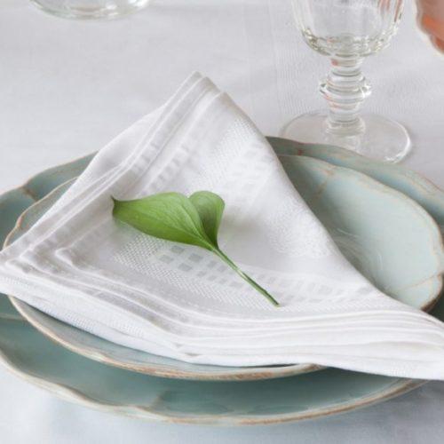 Серветка зі 100% бавовни. Мерсерізована тканина NOVA, Португалія