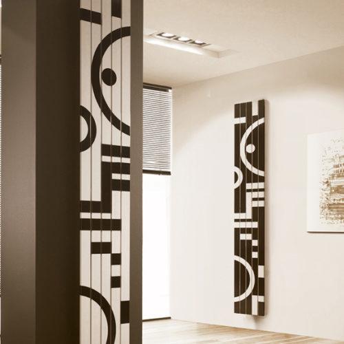 Фото Радиатор дизайнерский в современном стиле. Коллекция TOTEM, Италия