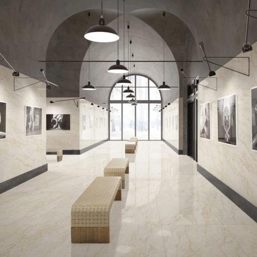 Керамогранит больших форматов. Коллекция Мarmi Тaj Мahal, Италия