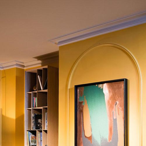 Фриз потолочный из дюрополимера. Коллекция Cascade, Бельгия