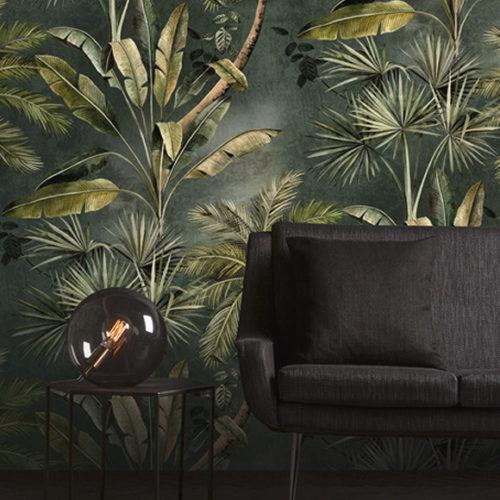 Обои флизелиновые с флористическим принтом. Коллекция Blooming, Бельгия