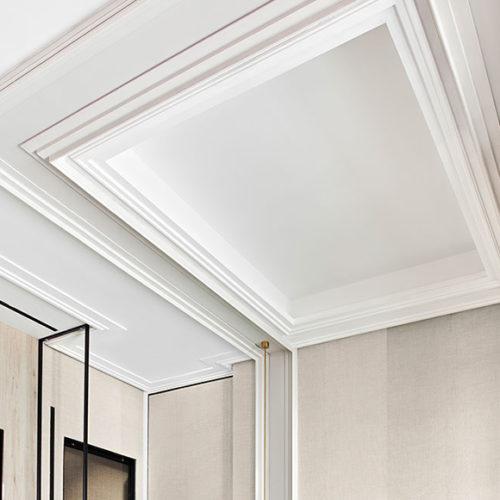 Элементы декора для потолка. Фризы из дюрополимера, Luxxus, Бельгия