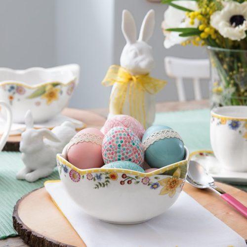 фото Посуда столовая для сервировки стола. Фарфор премиум класса Villeroy&Boch. Коллекция Spring Awakening, Германия