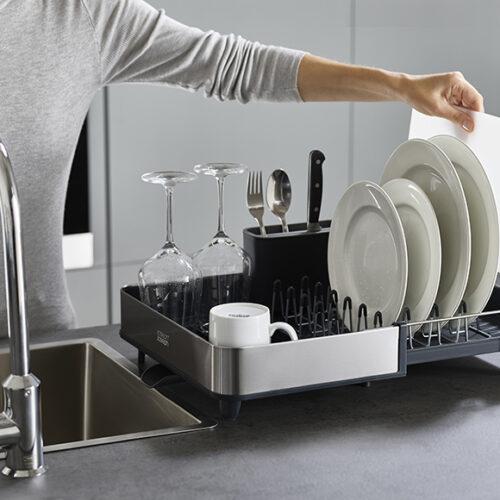 Сушка для посуду. Пластик, нержавіюча сталь. Joseph&Joseph, Англія