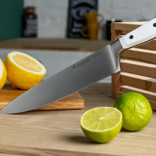 Новинка! Набір ножів з білою ручкою. Кована сталь. Wusthof, Німеччина