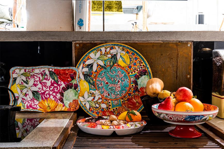 Коллекция столовой посуды. Блюда для сервировки стола. Итальянский фарфор. Коллекция Taormina Henriette, Италия