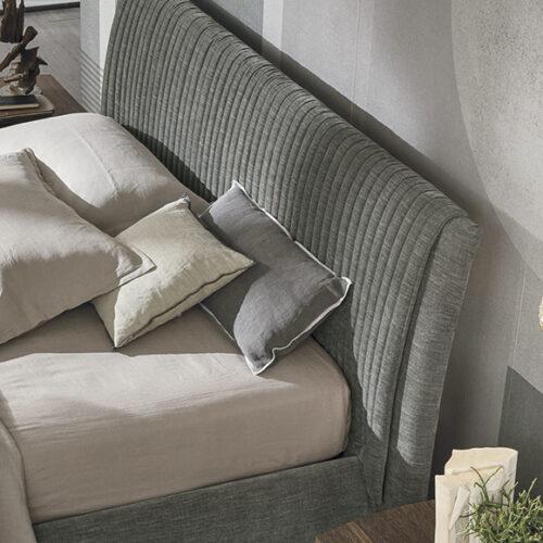 Мебель для спальни. Мягкое велюровое изголовье. Натуральное дерево. Коллекция Мarlena, Италия