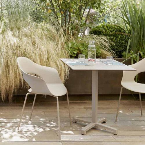 Комплект мебели для сада, террасы, балкона. Высококачественный технополимер. Коллекция Lady, Италия