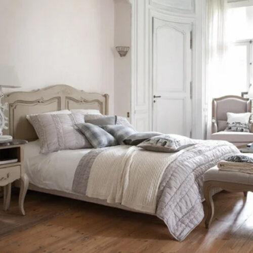 Кровать в стиле прованс. Размер 140х190. Натуральное дерево, ручная работа. Коллекция Сhateau, Франция