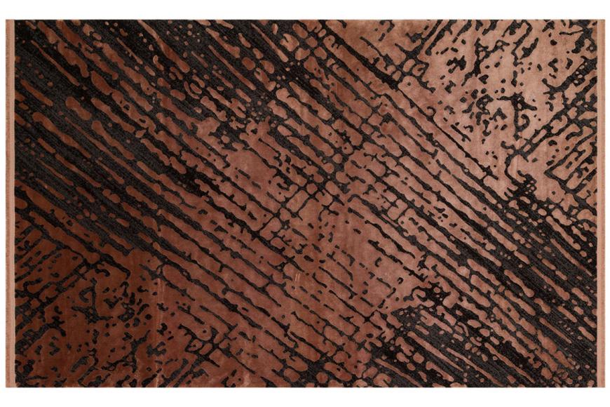 Ковер. Натуральная вискоза с добавлением акриловой нити. Возможны разные размеры. Цвет Bronz. Коллекция Cordoba, Турция