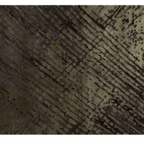 Ковер с геометрическим рисунком. Вискоза с добавлением акриловой нити. Возможны разные размеры. Цвет Antrasit Green. Коллекция Cordoba, Турция